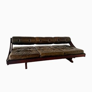 Mid-Century Rosewood Model GS 195 Daybed Sofa by Gianni Songia for Luigi Sormani