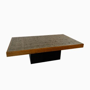 Vintage Brutalist Coffee Table by Wilfried Redeker