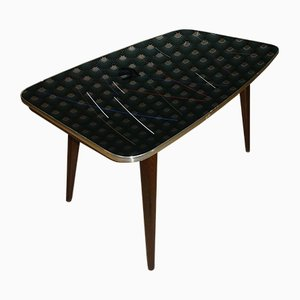 Mid-Century Model Mufuti Dining Table with Glass Top from MAX BÖHME, 1960s