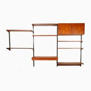 Modulares Vintage Teak Regalsystem von Kai Kristiansen für Feldballes Møbelfabrik, 1960er