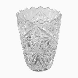Vase en Cristal, 1980s