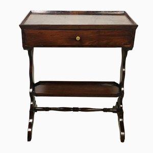 Table d'Appoint Antique Louis Philippe en Acajou