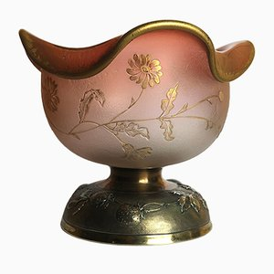 Antique Floral Bowl from Daum