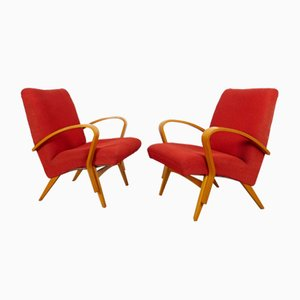 Armchairs by František Jirák for Tatra, 1960s, Set of 2