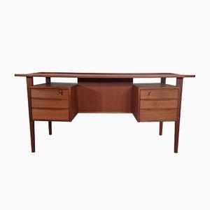 Bureau en Teck par Peter Løvig Nielsen pour Dansk Design, Danemark, 1970s