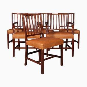 Pariser Stolen Chairs by Jacob Kjær, 1940s, Set of 4