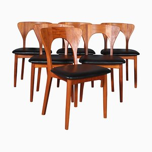 Dining Chairs by Niels Koefoed for Koefoeds Hornslet, 1960s, Set of 6
