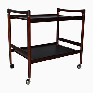 Rosewood Bar Cart from Dyrlund, 1960s