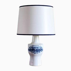 Lámparas de mesa Copenhagen de porcelana Royal Copenhagen de Fog & Morup, años 60. Juego de 2