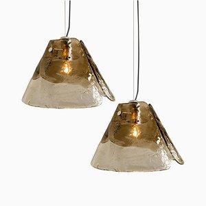 Lampe à Suspension par Carlo Nason pour Mazzega, 1970s