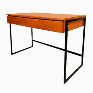 Vintage Minimalist Writing Desk in the Style of Pastoe, 1960s