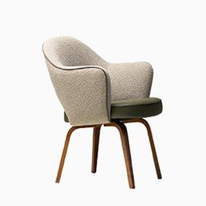 Executive Armchair in Leather by Eero Saarinen for Knoll International, 1960s