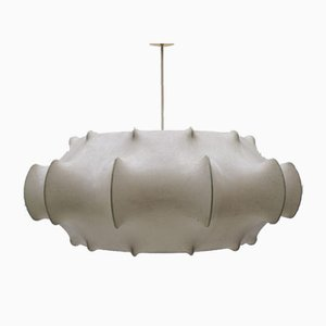 Large Mid-Century Cocoon Ceiling Lamp, 1960s