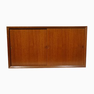 Vintage System Wall Unit Container Sideboard Unit by Poul Cadovius for Cado, 1974