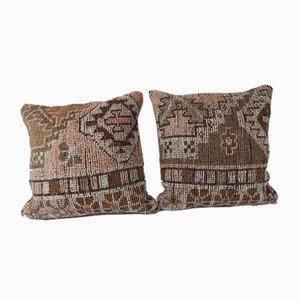 Oushak Rug Cushion Covers, Set of 2