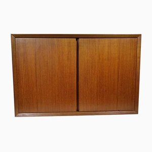 Vintage System 1-Door Wall Container Sideboard Unit by Poul Cadovius for Cado, 1974