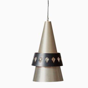 Lampe à Suspension Corona par Johannes Hammerborg pour Foq & Morup, 1963