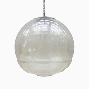 Lámpara de techo Pulegoso de cristal de Murano de Carlo Nason para Mazzega, años 60