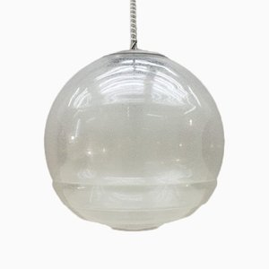 Pulegoso Murano Glass Ceiling Lamp by Carlo Nason for Mazzega, 1960s