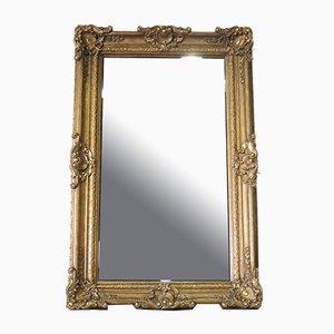 Grand Miroir sur Pied Vintage Doré, France