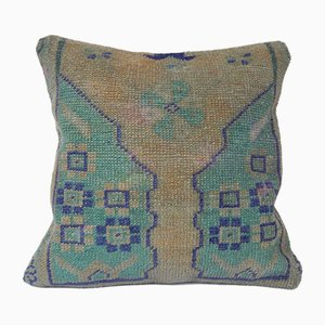 Turkish Oushak Rug Cushion Cover