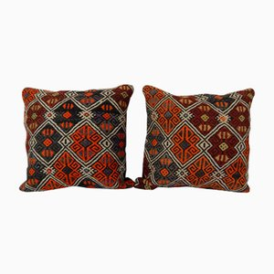 Turkish Jajim Kilim Cushion Cover