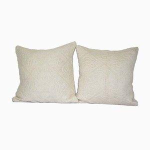 Turkish Kilim Cushion Covers, Set of 2