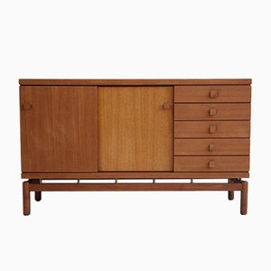 Teak & Brass Sideboard from La Permanente Mobili Cantù, 1960s