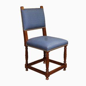 Chaises de Salon Style Louis XIII en Noyer, 1919, Set de 8