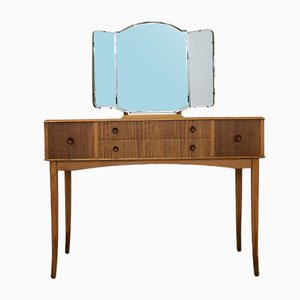 Walnut Veneer Dressing Table, 1960s