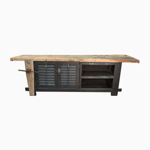 Vintage Carpenters Workbench, 1930s