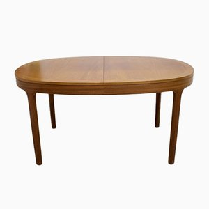 Teak Extendable Dining Table from Nathan, 1970s