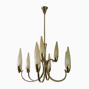VIntage Italian Chandelier by Angelo Lelli for Arredoluce, 1960s