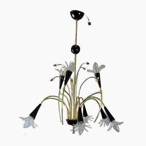 Vintage French Chandelier from Maison Lunel, 1950s