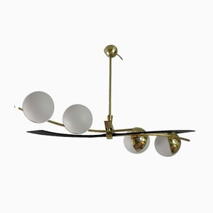 Vintage French Chandelier from Maison Arlus, 1950s