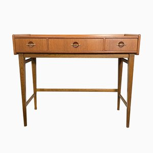 Mid-Century Swedish Teak Vanity Table from Fröseke AB Nybrofabriken, 1960s