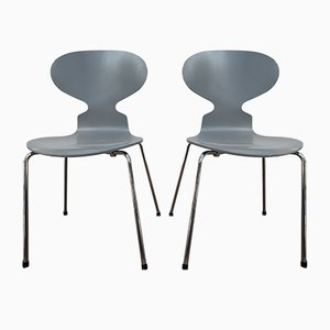 Ant Chairs by Arne Jacobsen for Fritz Hansen, 2000s, Set of 2