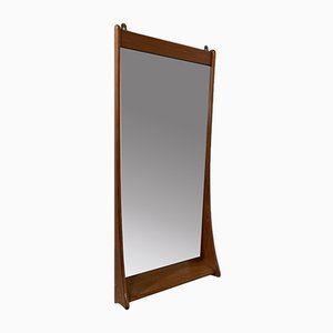 Danish Wall Mirror from Pederson and Hansen, 1960s