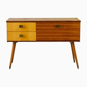 Mid-Century Solid Wood Chest of Drawers