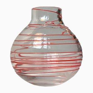 Vaso in vetro di Murano di Carlo Moretti, anni '70