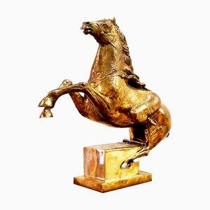 Scultura Amazzone a Cavallo di Novello Finotti, anni '80