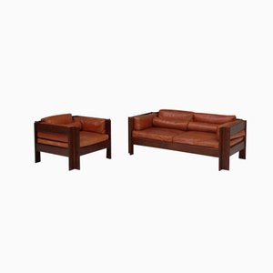 Italian Zelda Armchair and Sofa by Sergio Asti for Poltronova, Set of 2