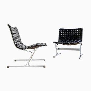 Chaises Luar par Ross Littell pour Herman Miller, 1960s, Set de 2