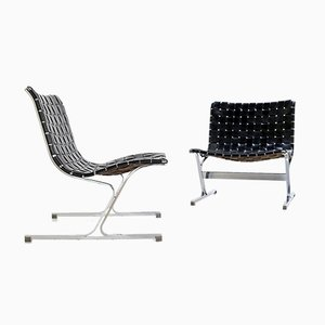 Luar Chairs by Ross Littell for Herman Miller, 1960s, Set of 2