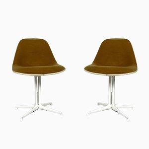 Sillas de comedor La Fonda de Charles & Ray Eames para Herman Miller, años 70. Juego de 2