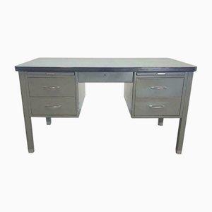Vintage Industrial Metal Desk from Gispen, 1960s