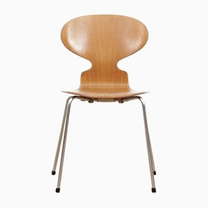 Chaises de Salon Mid-Century Moderne Ant par Arne Jacobsen pour Fritz Hansen, Set de 4