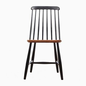 Mid-Century Modern Scandinavian Nesto Dining Chairs from Nässjö stolfabrik, Set of 6