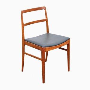Chaises de Salon Mid-Century Modernes Scandinaves en Palissandre & Teck Modèle 430 par Arne Vodder pour Sibast Furniture, Set de 6