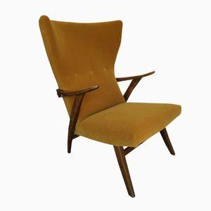 Mid Century German Wingback Chair